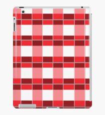 Custom color Plaid design iPad Case/Skin