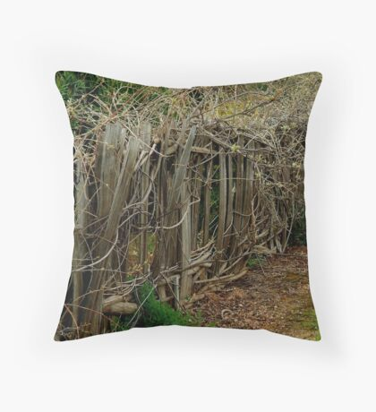 Entwined and Tangled Throw Pillow
