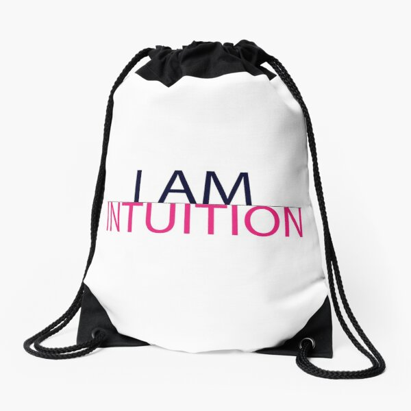 HTEYBL - I Am Intuition Drawstring Bag