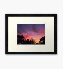 Touch Of Colours Framed Print