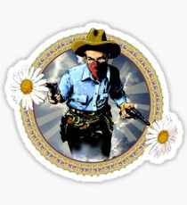 The Cowboy For Love Sticker