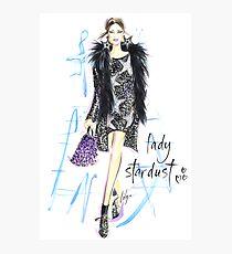 Lady Stardust! Photographic Print