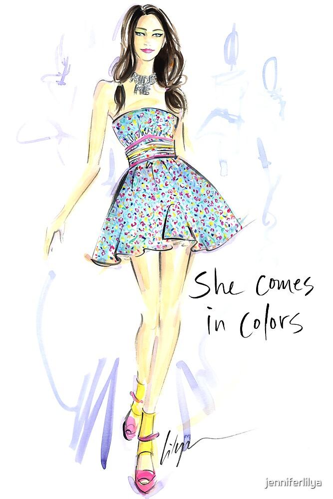 She Comes In Colors by jenniferlilya