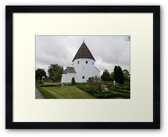 Sankt Ols Kirke on Bornholm by Mark Prior