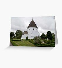 Sankt Ols Kirke on Bornholm Greeting Card