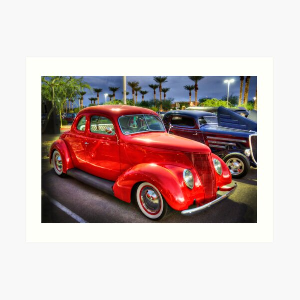 37 Ford Coupe  Art Print