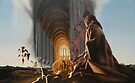 """Surreal Cathedral - oil on canvas - 50"""" x 31"""" by Dave Martsolf"""