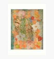 Tiki Flower Art Print