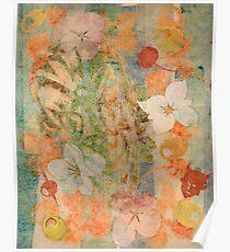 Tiki Flower Poster