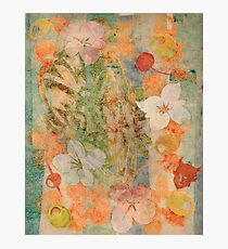 Tiki Flower Photographic Print