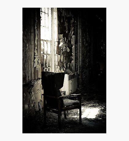A Quiet Spot by the Window Photographic Print