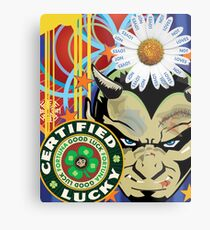 Lucky Devil Metal Print