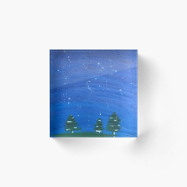 A Night Out Acrylic Block