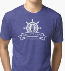 Scuttle's Quality Dinglehoppers Tri-blend T-Shirt