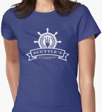 Scuttle's Quality Dinglehoppers Women's Fitted T-Shirt