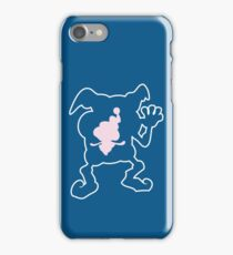 PKMN Silhouette - Mr. Mime Family iPhone Case/Skin