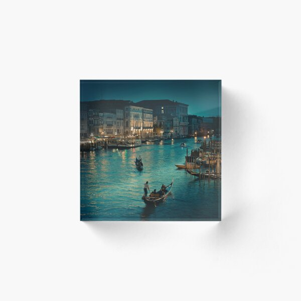 Venice Italy - Travel Acrylic Block