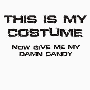 This is my costume by CornrowJezus