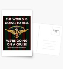 The World Is Going To Hell... Postcards