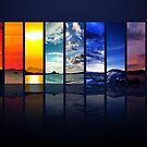 Spectrum of the Sky (wider version) by Dominic Kamp