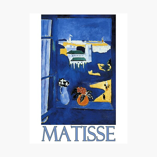 Window in Tangier by Henri Matisse Photographic Print