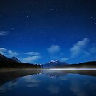 Maligne Starry Sky by Dominic Kamp