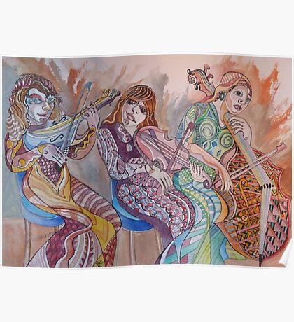 String Trio Poster