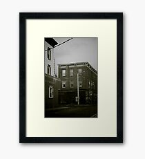 The Economy Framed Print