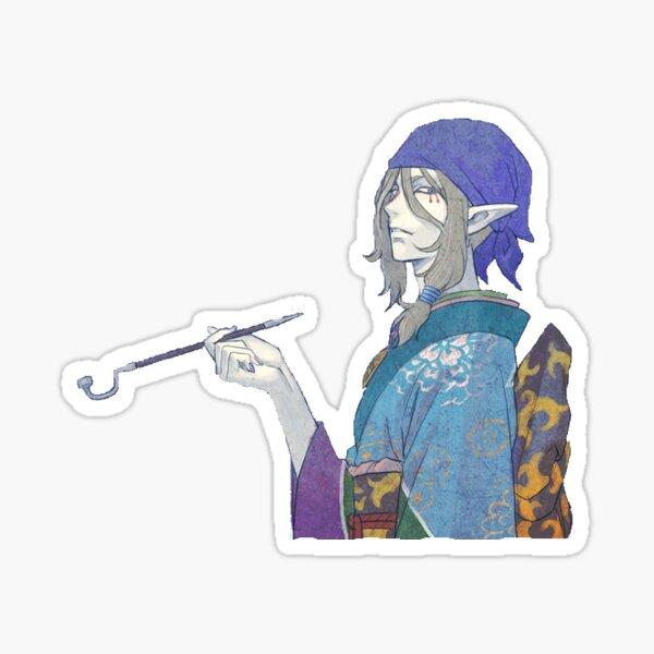 Vendeur de médicaments Mononoke Kusuriuri Sticker Sticker