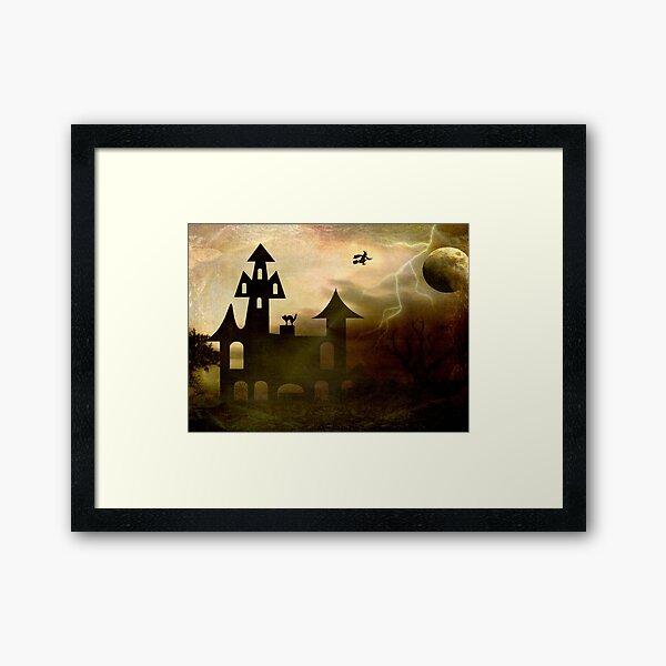 Moon Flight © Framed Art Print