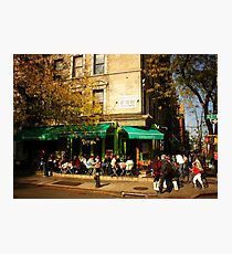 Autumn in Alphabet City Photographic Print