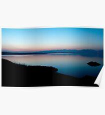 Dawn at Llanddwyn Island Poster
