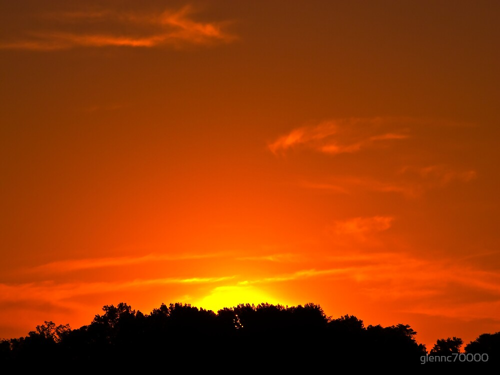 Townsend Sunset by glennc70000