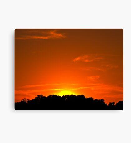 Townsend Sunset Canvas Print