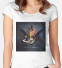 No Title 136 T-Shirt Women's Fitted Scoop T-Shirt