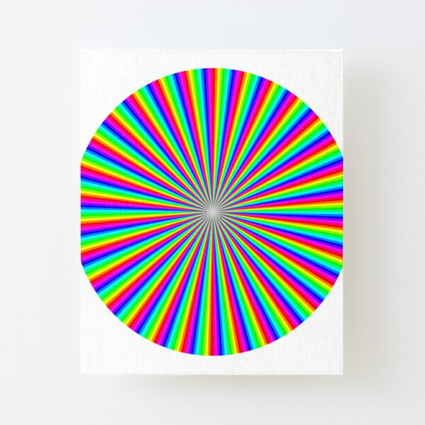 #Op #art - art movement, short for #optical art, is a style of #visual art that uses optical illusions Canvas Mounted Print