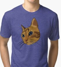 Cat (Hubert) Tri-blend T-Shirt
