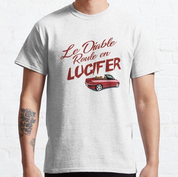 Le Diable Roule En LUCIFER - Marron & Rouge T-shirt classique