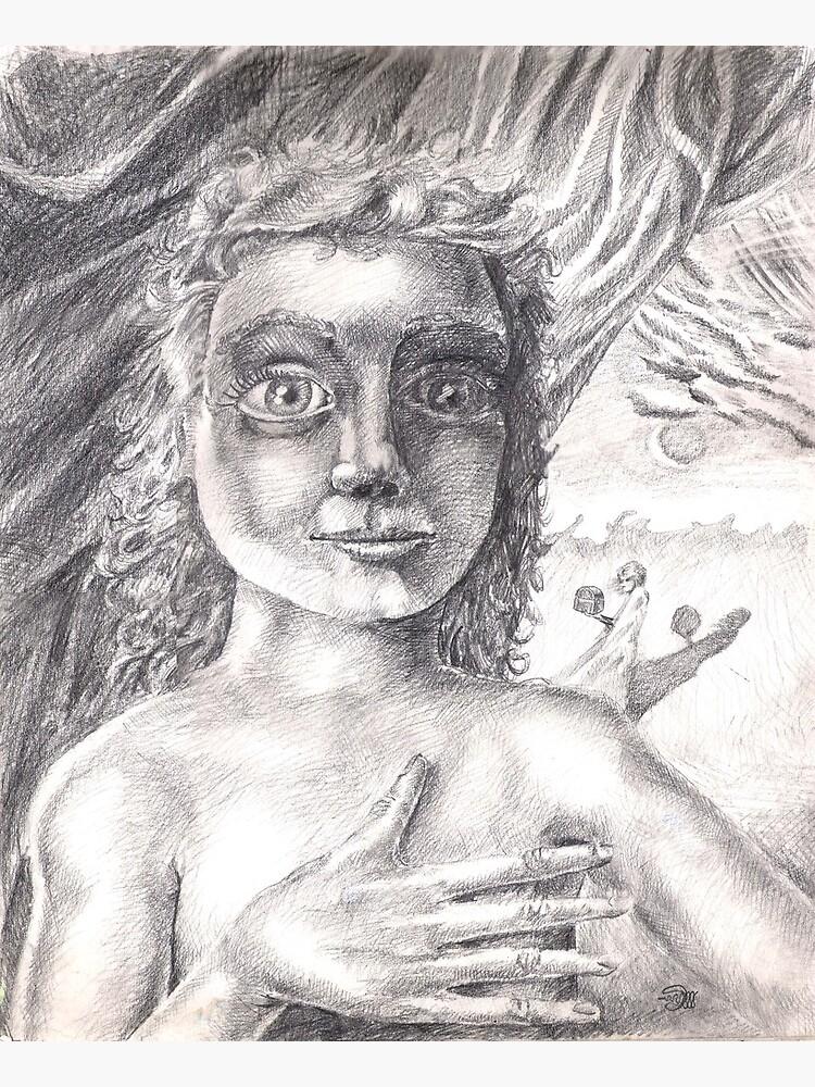 Pandora (the drawing) by dajson