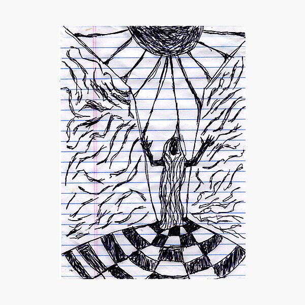 Archon scene sketch Photographic Print