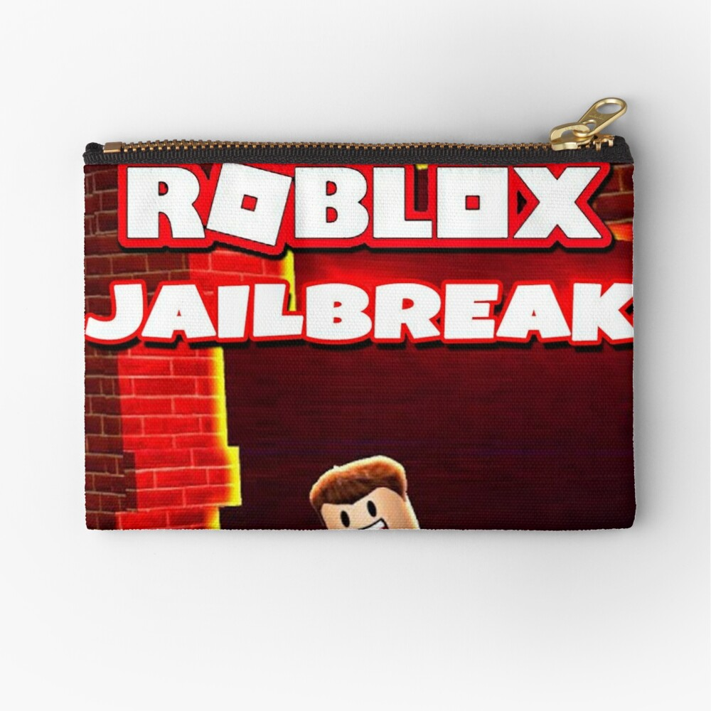 Roblox Jailbreak Game Zipper Pouch By Best5trading Redbubble