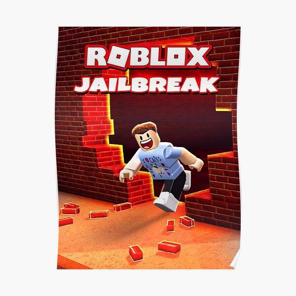 Roblox Jailbreak Game Póster