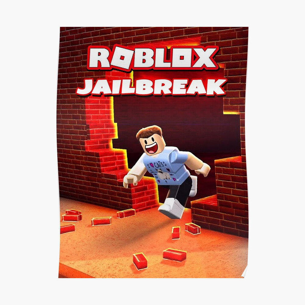 Roblox Jailbreak Game Sticker By Best5trading Redbubble