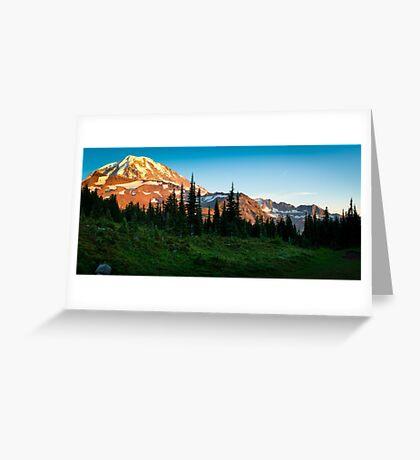 Spray Park Panorama Greeting Card