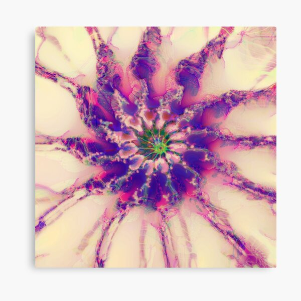 Fractalize abstraction Canvas Print