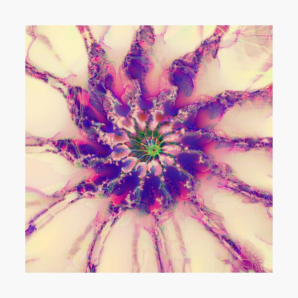 Fractalize abstraction Photographic Print