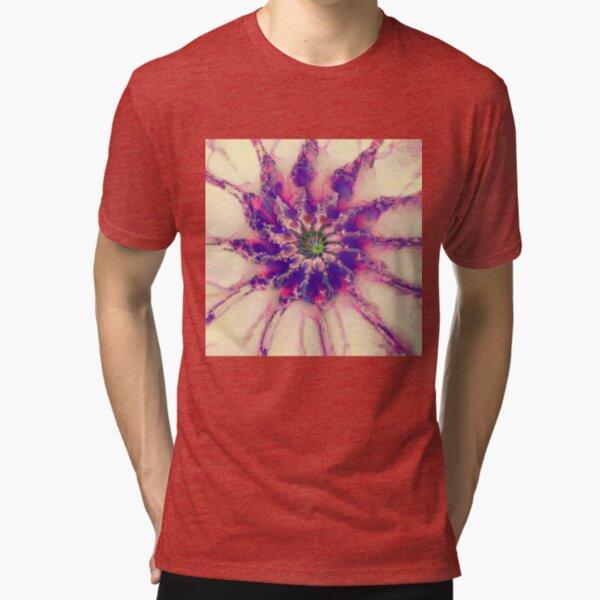Fractalize abstraction Tri-blend T-Shirt