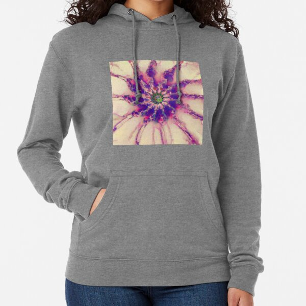 Fractalize abstraction Lightweight Hoodie