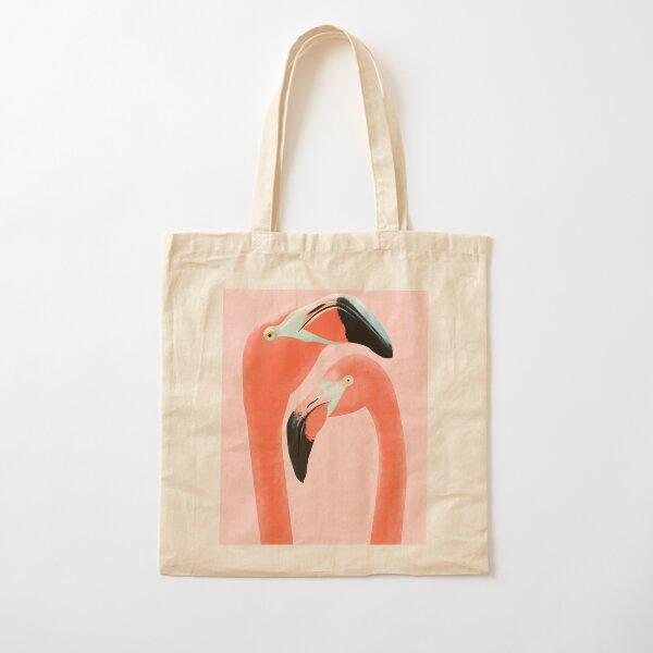 Flamingos Cotton Tote Bag