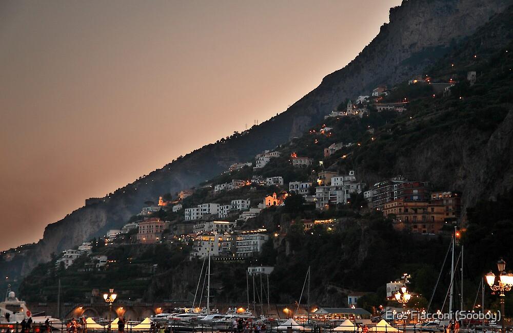 After sunset Amalfi Italy by Eros Fiacconi (Sooboy)